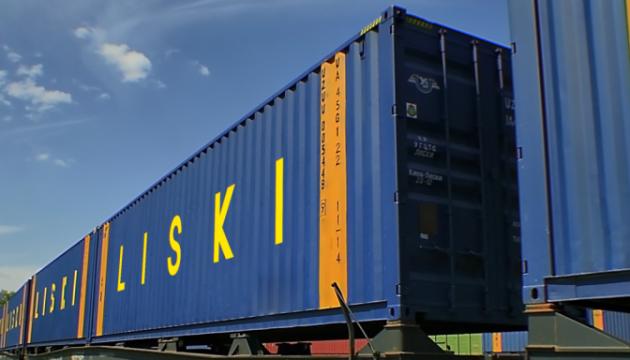 Укрзализныця с начала года приняла четыре контейнерных поезда из Китая