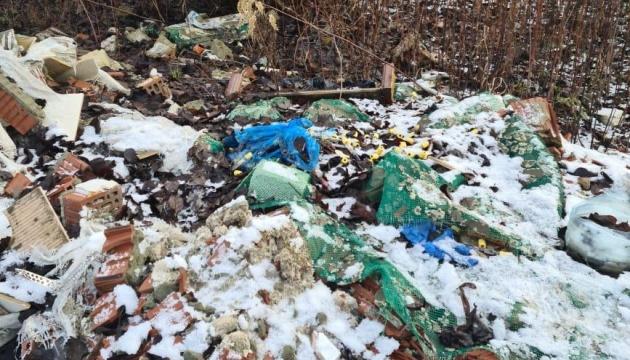 Правоохранители возле Львова обнаружили свалку медицинских отходов