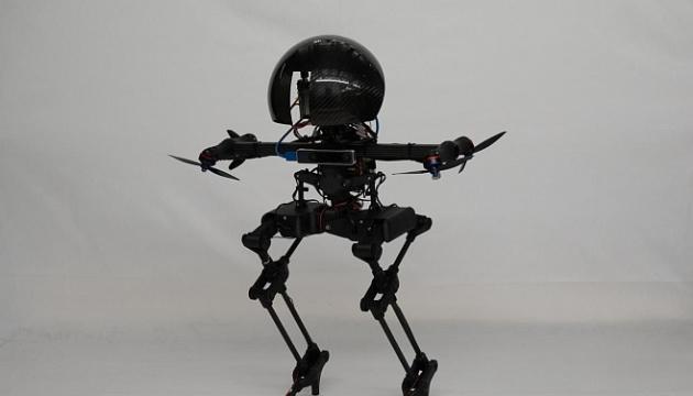 В США разработали прототип робота-дрона, который ходит и летает (видео)