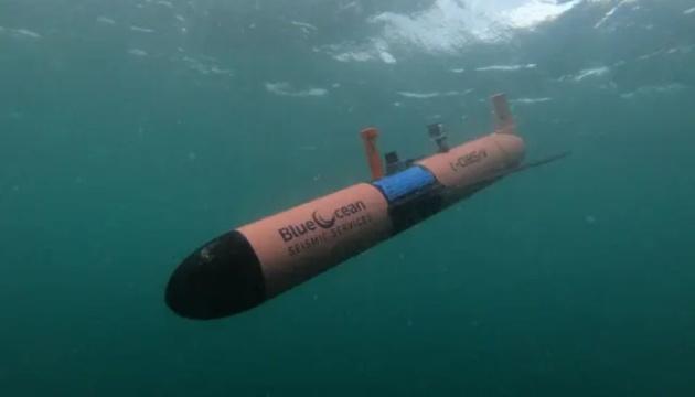 В Северном море испытали подводный дрон