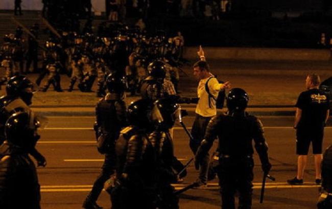 МВД Беларуси подтвердило применение огнестрельного оружия против митингующих