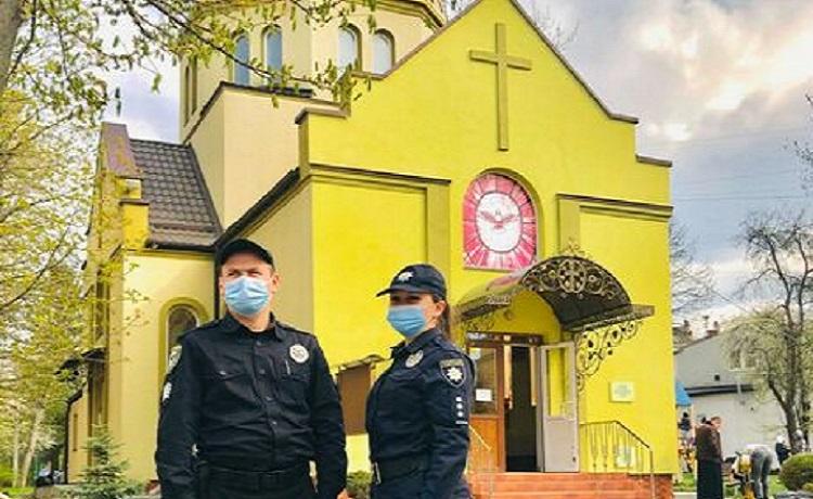 В богослужениях на Пасху приняли участие свыше 740 тыс. украинцев - Нацполиция