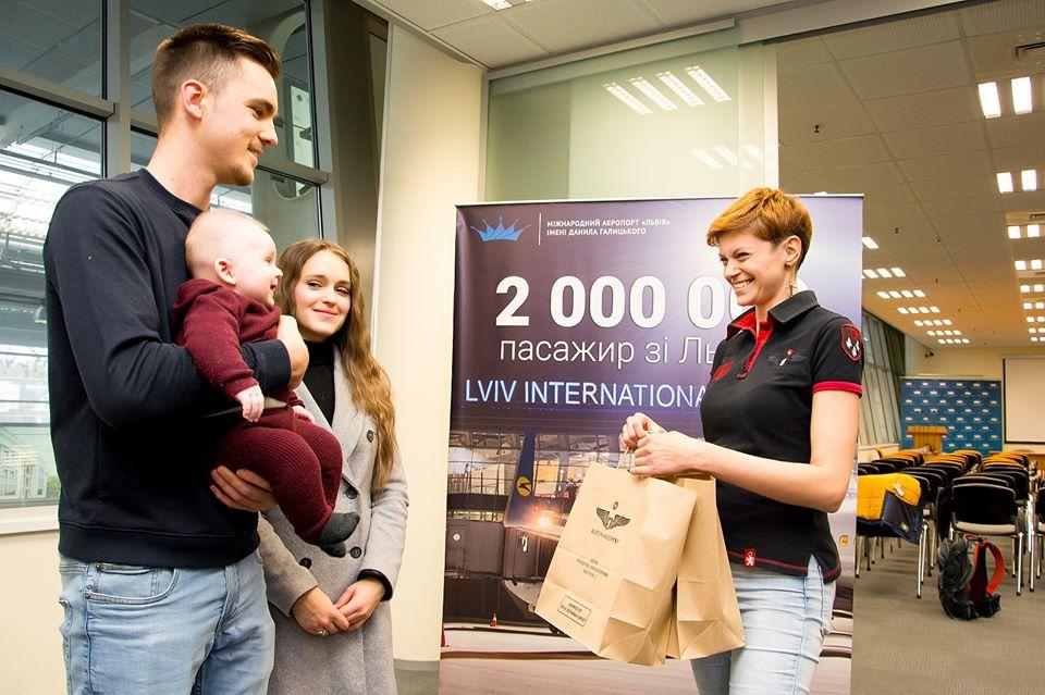 Львовский аэропорт с начала года впервые обслужил 2 миллиона пассажиров
