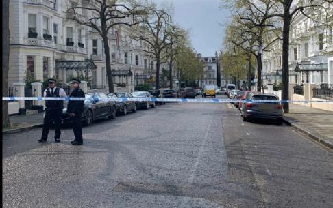 Авто посла Украины протаранили в Лондоне