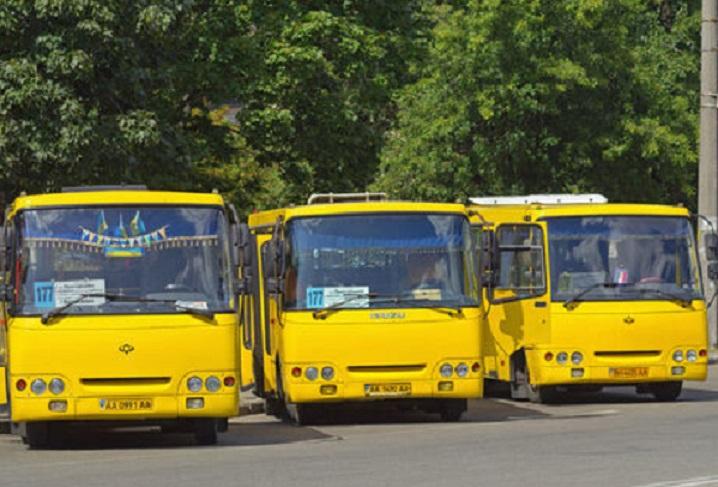 В Киеве увольняются водители маршруток