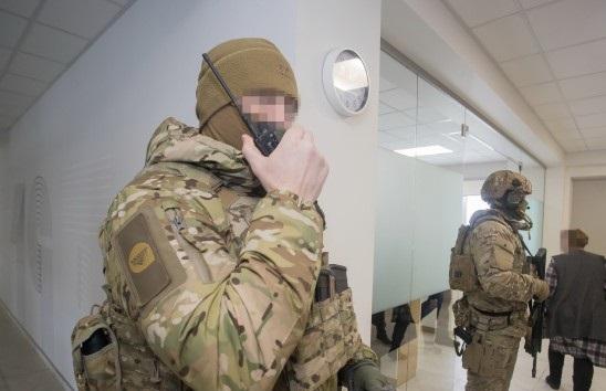 СБУ заблокировала в Киеве незаконное завладение недвижимостью