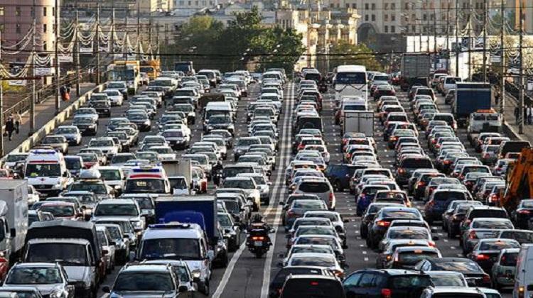 Киев занял 12-е место в мире по уровню пробок на дорогах