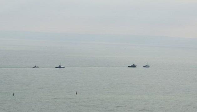 РФ передала Украине захваченные военные корабли