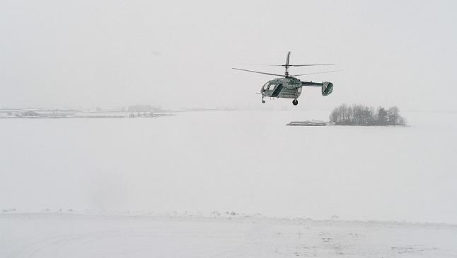 Белорусский стартап переоборудовал вертолет Ка-26 в грузовой беспилотник