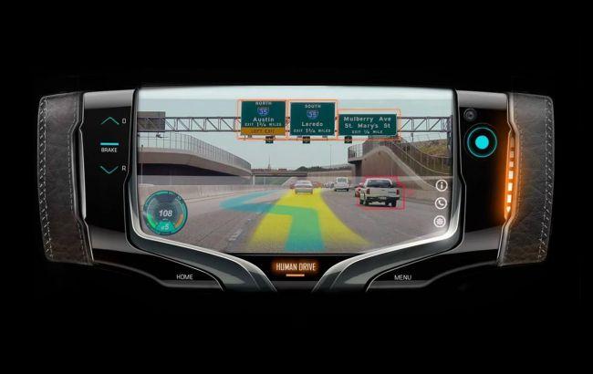 Дизайнеры General Motors показали руль будущего