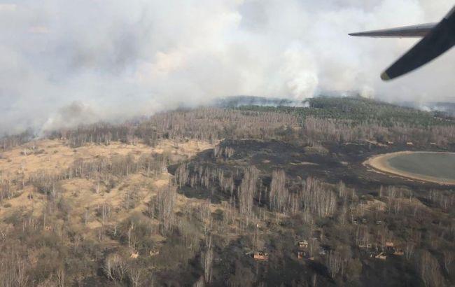 Пожары в Киевской и Житомирской областях носят умышленный характер