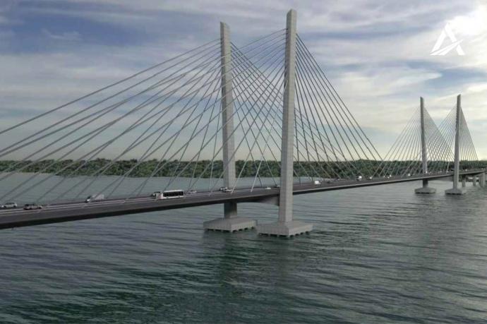 Турецкая компания выиграла тендер на строительство моста в Кременчуге
