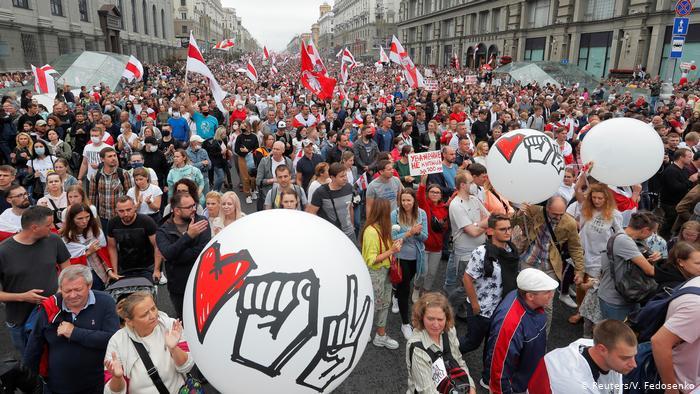 Свыше 400 протестующих были задержаны в Беларуси в субботу