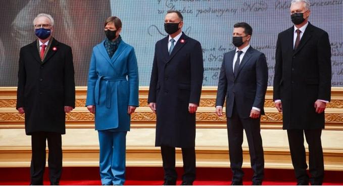 Президенты пяти стран сделали совместное заявление