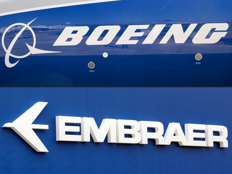Boeing отказалась от слияния с Embraer