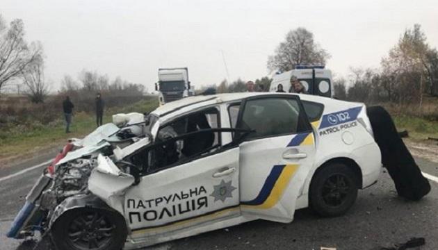 В Украине с начала года произошло 877 ДТП с участием полицейских