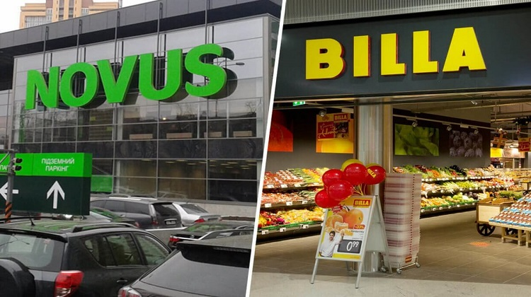 NOVUS приобретет торговую сеть BILLA