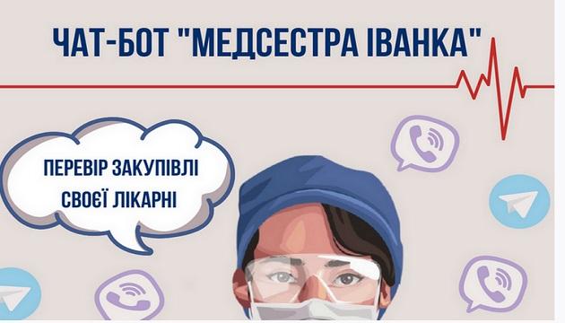 В Украине появился чат-бот по проверке расходов бюджетных средств для борьбы с COVID-19