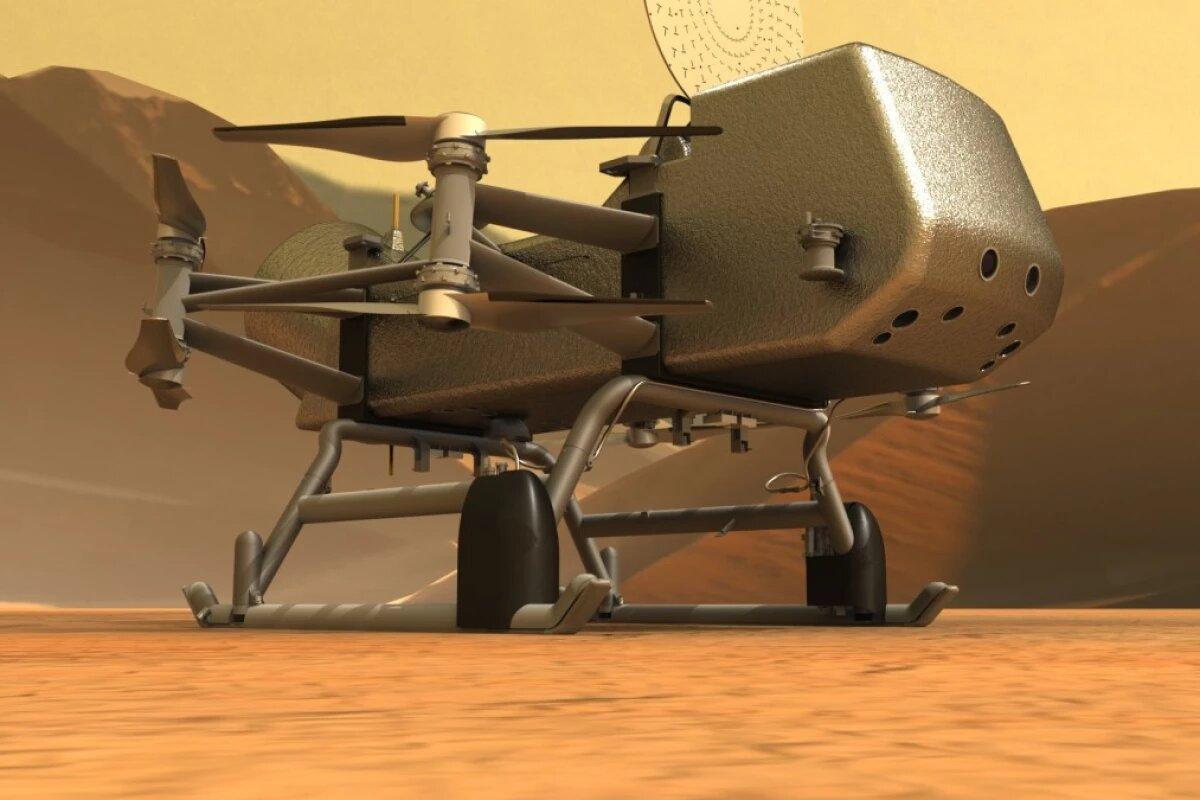 Аппарат Dragonfly НАСА отправится на поиски жизни на спутник Сатурна – Титан