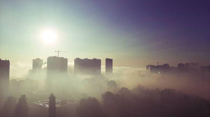 Стала известна причина задымления в Киеве