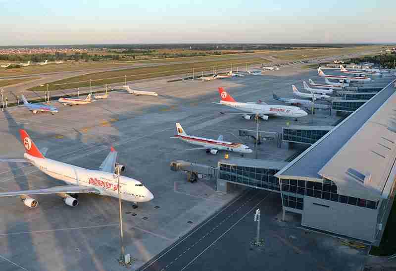 Украинские аэропорты с начала года нарастили пассажиропоток на 21%