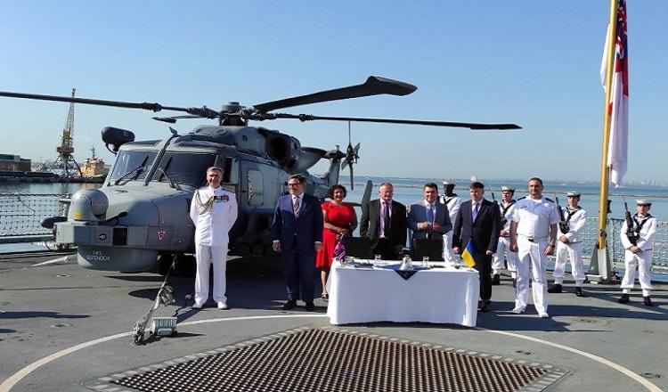 Британия и Украина будут строить военные корабли