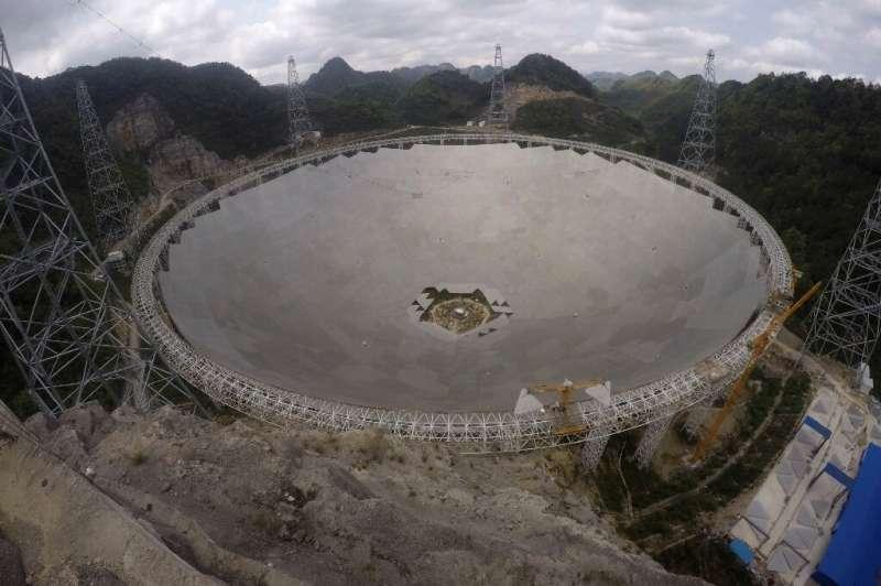 Китай дозволив використовувати найбільший у світі радіотелескоп FAST вченим різних країн