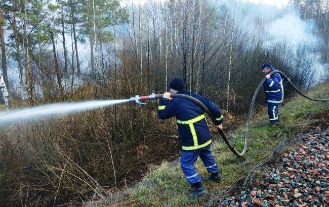 ГСЧС сформировала резерв на случай осложнения лесных пожаров