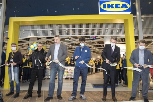 В киевском ТРЦ открылся магазин IKEA
