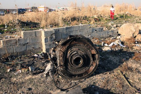 Офис генпрокурора запросил у Ирана информацию о 10 обвиняемых в катастрофе самолета МАУ