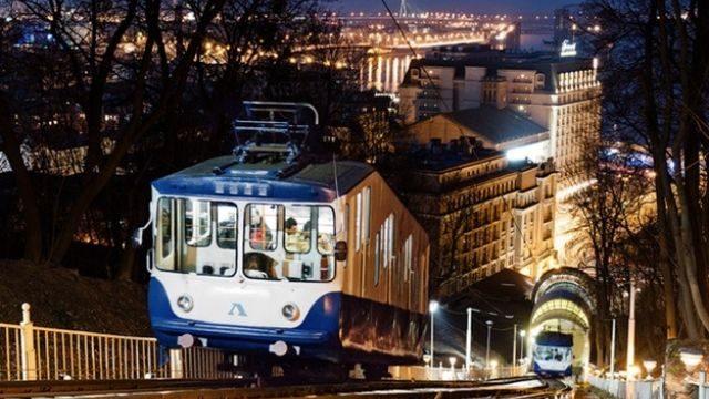 Киевский фуникулер закрывают на ремонт