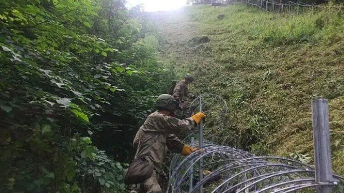 Эстония поможет Литве строить забор с Беларусью