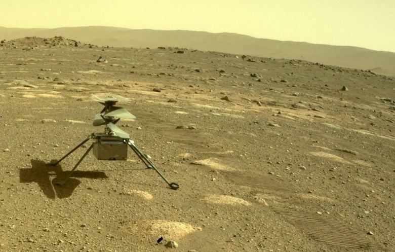 Вертолет NASA совершил первый полет на Марсе (видео)