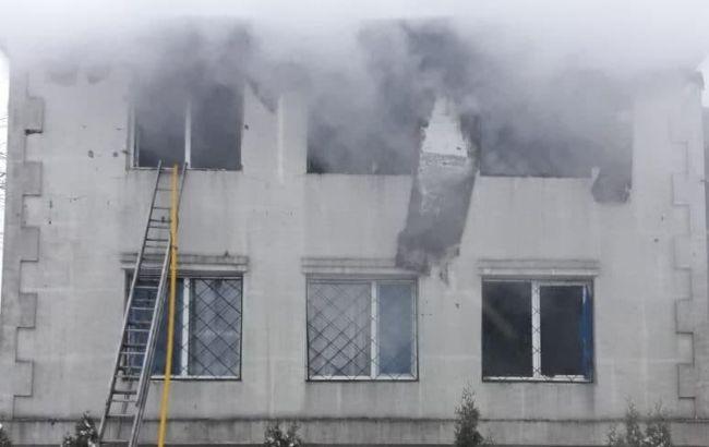 Пожар в пансионате в Харькове: полиция задержала трех человек