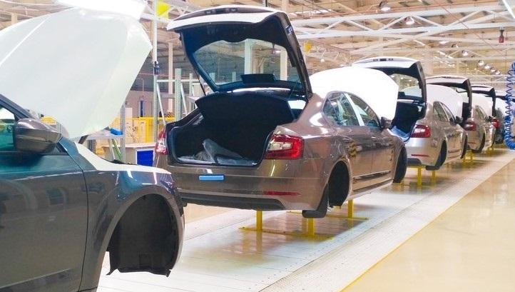 В Украине производство легковых автомобилей выросло в 2,2 раза