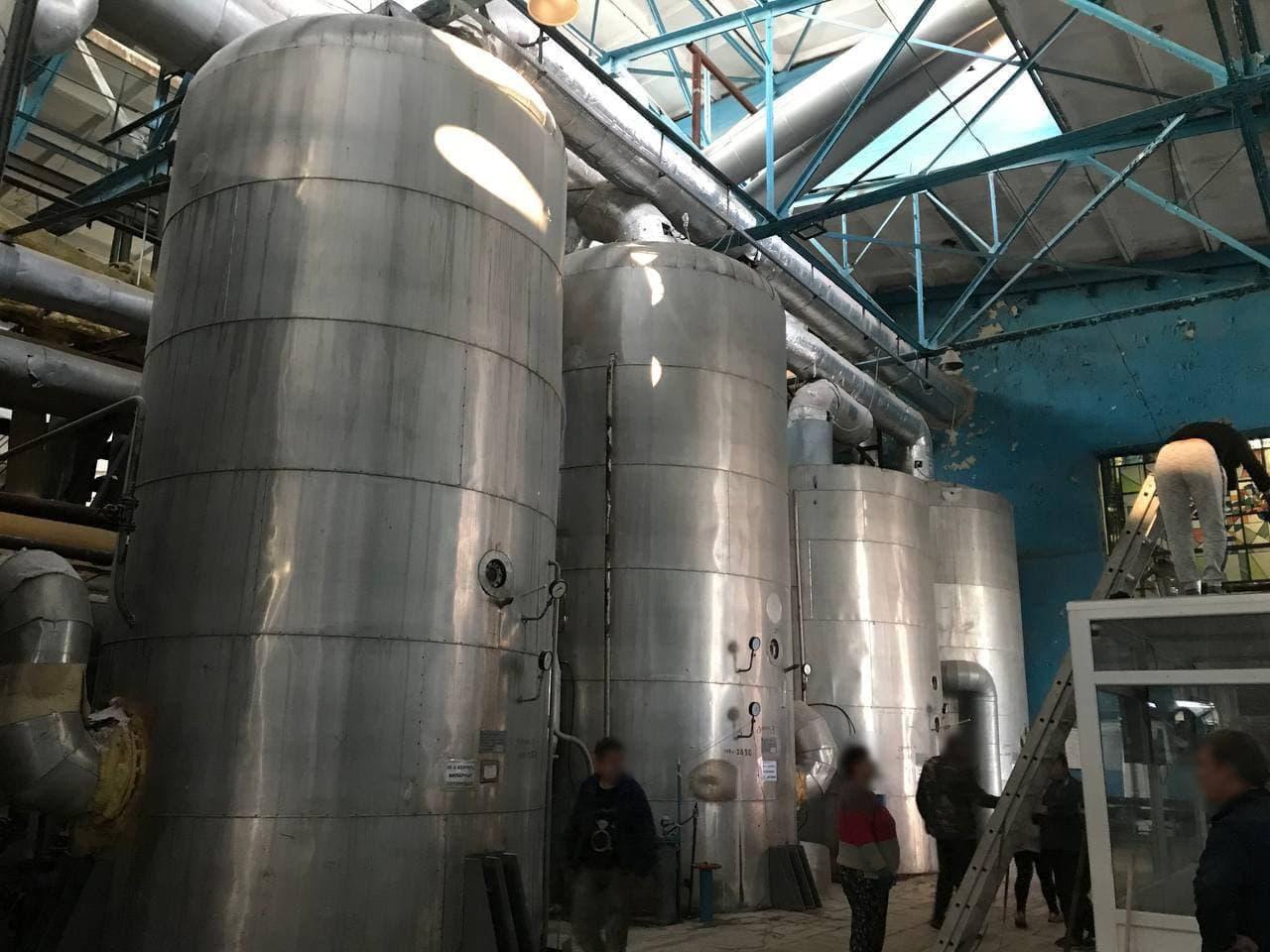 На Киевщине произошел взрыв на сахарозаводе