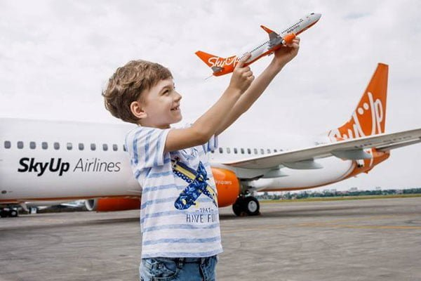 За август SkyUp перевезла 212 тысяч пассажиров