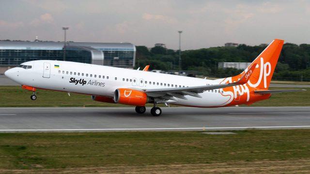 SkyUp приостанавила полеты в Турин