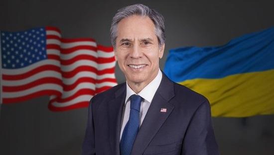 В Украину прибыл госсекретарь США Блинкен