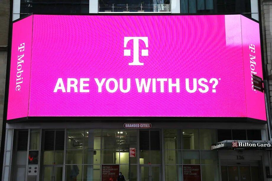 Из-за взлома данных оператора T-Mobile мошенники получили доступ к личной информации более 47 млн человек