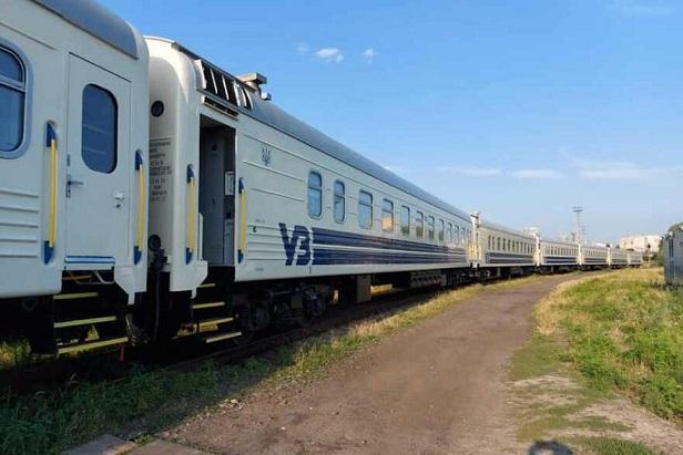 УЗ запустила новейшие поезда из Киева в Запорожье