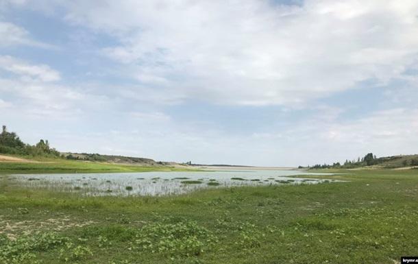 Два крымских водохранилища оказались на грани исчезновения