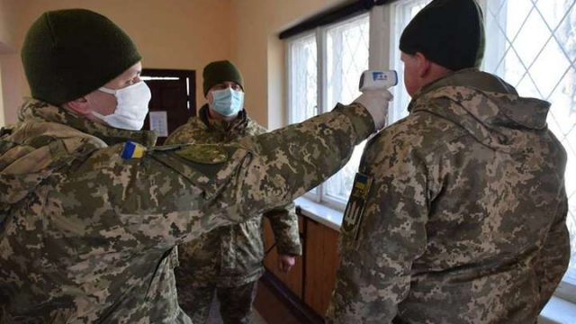 В ВСУ за сутки на Covid-19 заболели 163 человека, — командование Медсил