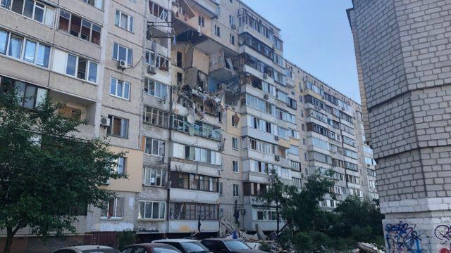 Взрыв на Позняках: секция восстановлению не подлежит