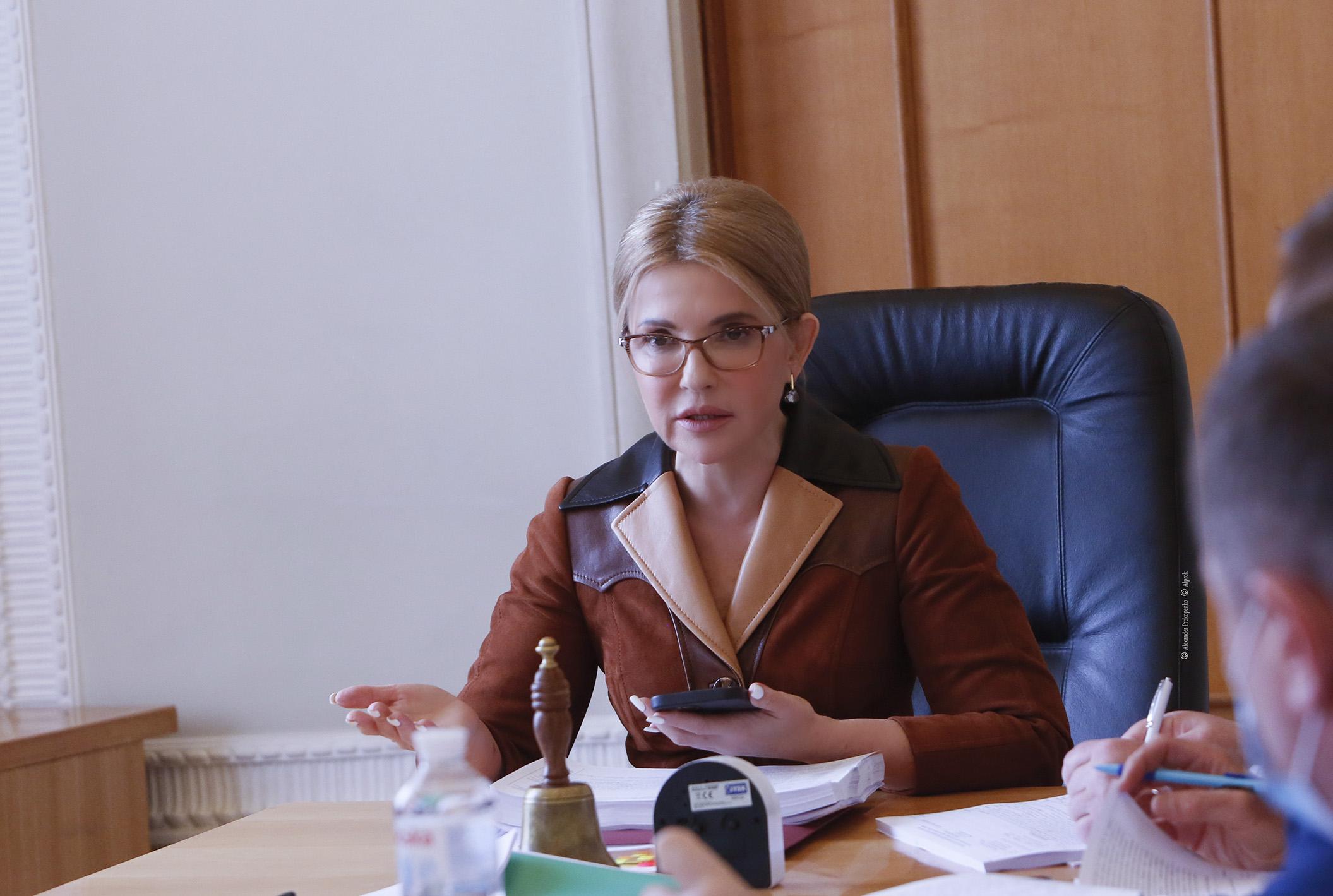 Юлія Тимошенко й «Батьківщина» – єдина фракція, яка не дала жодного голосу за розпродаж землі іноземцям