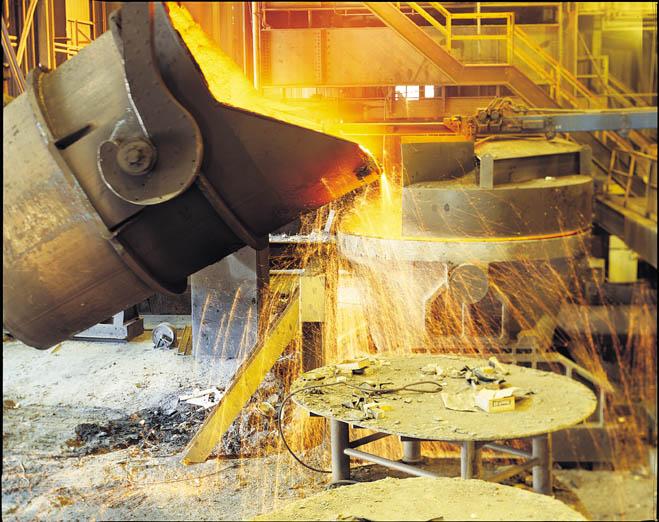 В Украине снизилось производство стали