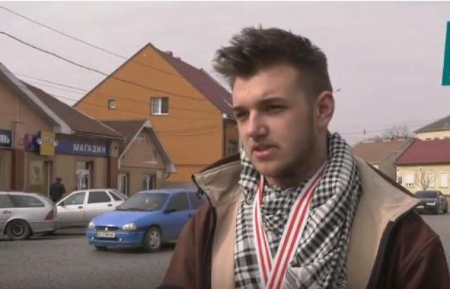 Школьник из Хустщины едет со своим стартапом на конкурс Genius Olympiad 2018 в США