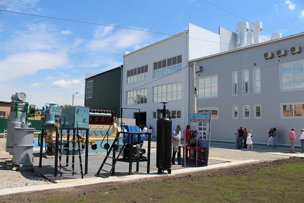 В Каменец - Подольском открыли уникальную ТЭС на биомассе