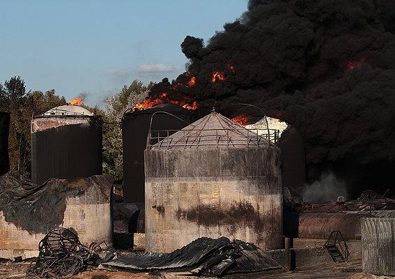 МВД отчиталось о ходе дела по пожару на нефтебазе БРСМ-Нафты
