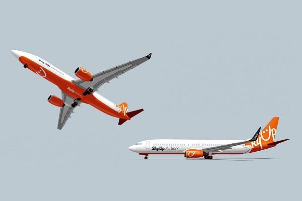 Авиакомпания SkyUp получила права на эксплуатацию 55 воздушных линий